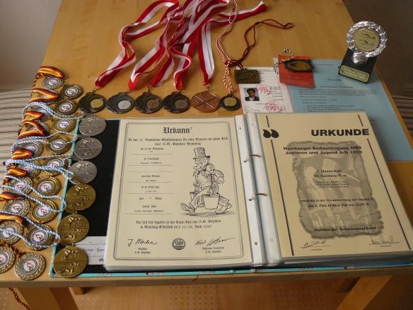 Was ich im Sport schon alles erreicht habe!
