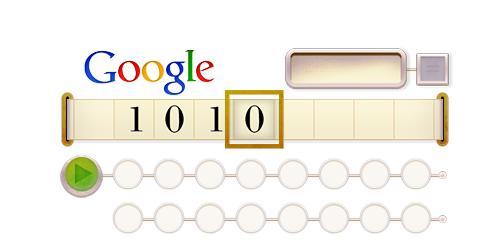 Google Doodle: Turing Maschine zu Alan Turings 100. Geburtstag