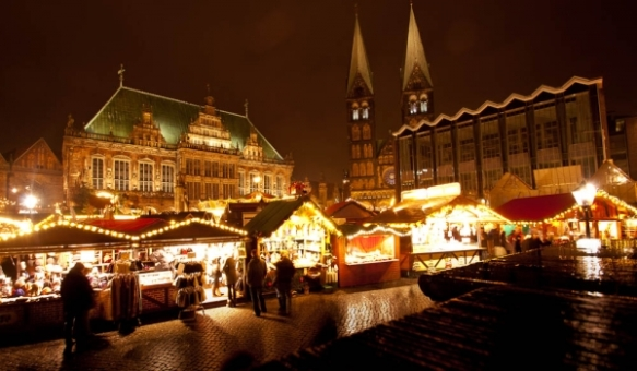 Opening today: The Christmas fair in Bremen